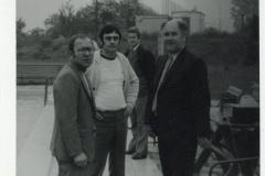 zľava Milan Lvončík, Dušan Štekláč, Milan Záborský